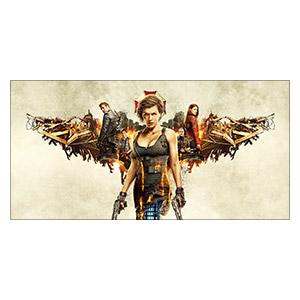 Resident Evil. Размер: 120 х 60 см